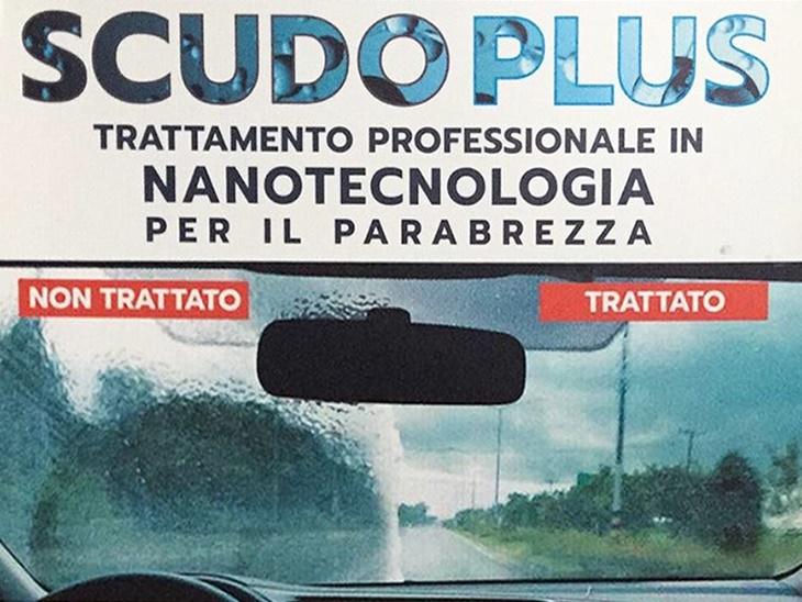 Scudoplus, trattamento professionale per il parabrezza